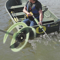 Drill Paddle - Replaces Trolling Motor for Emergency Backup