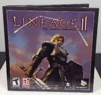 Lineage 2 II Chaotic Chronicle PC CD-ROM Game 2 Disc RPG Adventure