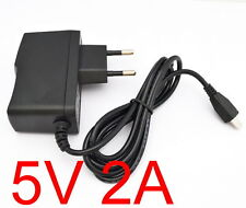 AC 100V-240V Adapter DC 5V 2A Power Supply Charger EU plug 2000mA 10W MICRO USB