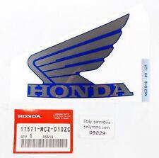 2004 HONDA CB900 Furl Réservoir Type 9 Emblème Décalque Mark Aile Autocollant