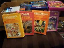 Circus Atari 2600 With More Games & Manuals Boxed free post X6
