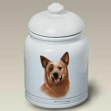 Australian Cattle Dog Ceramic Treat Jar Tb 34301