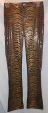 Women's XOXO Jeans Size 3/4 Tiger Skin Print Boot Cut Pants