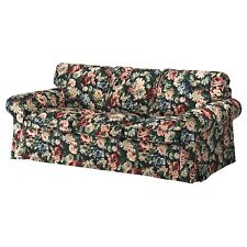 Ikea Ektorp 3 Seat Sofa Slipcover Cover Lindbo Multicolor Floral New 904 033 75