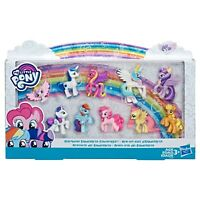 "My Little Pony Rainbow Equestria Favorites Collection - 10 MLP - 2.5"" Mini Figs"