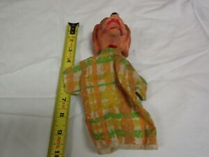 VINTAGE PUPPET WALT DISNEY LADY FROM LADY IN THE TRAMP PRETEND PLAY
