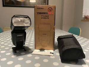 YONGNUO YN600EX-RT II Wireless Speedlite Flash for Canon in excellent condition