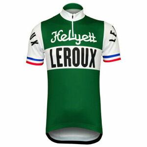 Helyett LeRoux Team Retro Cycling Jersey cycling Short Sleeve jerseys