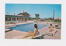 Maryland Md Bel Alton (Charles Co) Thunderbird Motel pool, women, bathing suits