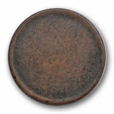 Dateless Blank Large Cent Copper Planchet Mint Error Coin #RP45