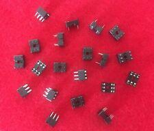 80 Piece Taitron TCI T02 06 C DIP IC Chip Socket Adaptor 2 Row 6 Pin Solder