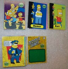 The Simpsons Anniversary Celebration Trading Card Set with T1
