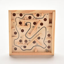 Puzzle Toys Wooden Labyrinth Balance Board Game Children EducationalEC,