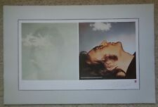 John Lennon Imagine Numbered Limited Lithograph/Poster Plate Signed Beatles