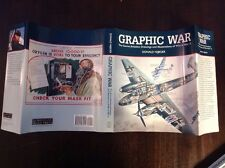 Graphic War Secret Aviation Drawings & Illustrations of WWII HARDCOVER free Ship