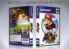 SUPER MARIO 64. JAPAN. Box/Case. Nintendo 64. BOX + COVER. (NO GAME).