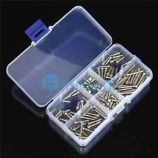 120pcs M3 Button Head Socket Cap Screw Qty Assortment Kit NEW