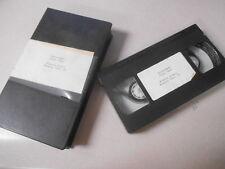VHS Video Cassette Tape Motor Week Road Test Bimota Dieci Bimota Tesi 1D #Q
