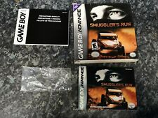 Smugglers Run GBA Gameboy Advance Box Only.
