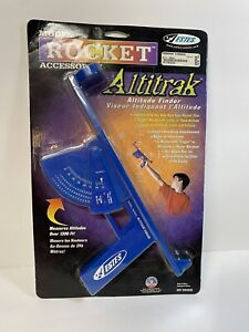 Sealed on card  AltiTrak Altitude Finder Flying Model Rocket Tracker vintage