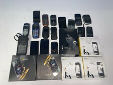 Vintage Cell Phone Lot of 33 Iphone  NIB and Others For Parts Gold +++