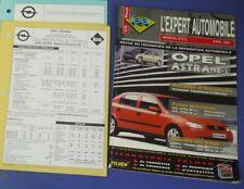 Revue technique l'expert automobile no RTA 373 Opel astra 1998->