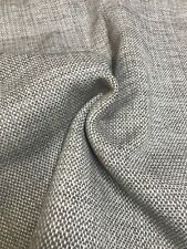 MARK & SPENCER / NEXT MINKY BROWN CHENILLE UPHOLSTERY FABRIC 3.4 METRES(1.7+1.7)