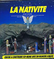LP LA NATIVITE RACONTE PAR SAMSONG BILLY NENCIOLI AVEC POCHETTE CRECHE