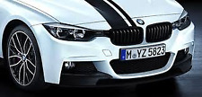 Black Kidney Grille Set Genuine BMW F30 M Performance 3 Series 51712240775