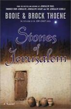 Stones of Jerusalem by Brock Thoene and Bodie Thoene (2002, Hardcover)