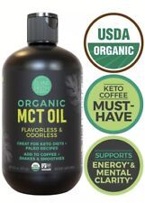 Island Fresh Organic MCT Oil for Keto Diet Made from 100% Organic Coconuts