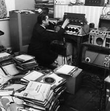 1963 Telstars Recording Wizard Joe Meek At Work OLD PHOTO