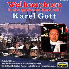 KAREL GOTT - CD - WEIHNACHTEN IN DER GOLDENEN STADT MIT KAREL GOTT