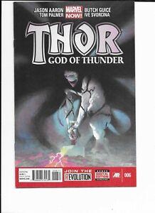 THOR GOD OF THUNDER #6 MARVEL COMICS KNULL /GORR