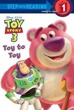 Toy Story 3: Toy to Toy by Tennant Redbank Paperback Book (Good Copy)