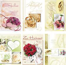 Gluckwunschkarten Zur Hochzeit Gunstig Kaufen Ebay