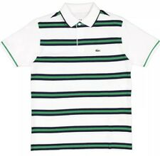 Lacoste Mens Stripe Polo Shirt Size X-Small (2) BNWT