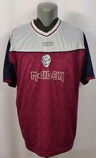 Iron Maiden Visions of the Beast Football Soccer Jersey Shirt XL Official Tour