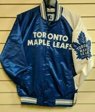 Starter NHL Men's Toronto Maple Leafs Adult Satin Jacket