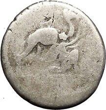 Roman Republic 55BC JUDAEA Jewish Reference Aristobulus II Silver Coin i52483
