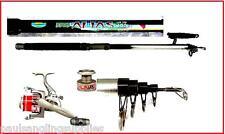 Telescopic / Travel  Beachcaster / Beach Fishing 12ft Rod & Reel + Line