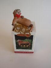 Hallmark Collectible Keepsake Ornament 1995 Fabulous Decade Laid Back Otter Mib