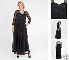 NEW Zaftique SWISS DOT GOWN Black 1Z 2Z 3Z 4Z / 16 20 24 28 / XL 1X 2X 3X 4X