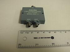 NARDA 4322-2 2-Way Power Divider 0.5 - 2GHz