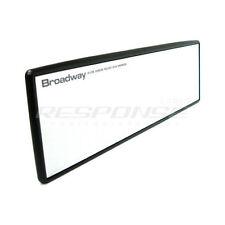 Broadway Rear View Mirror 240mm Flat Universal Fitment BW-742 JDM Genuine New