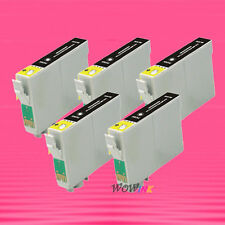 5P T078 78 BLACK INK CARTRIDGE FOR EPSON R595 RX680