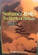 SUMMER, 1940 THE BATTLE OF BRITAIN by ROGER PARKINSON  WW II HCDJ in VERY GOOD