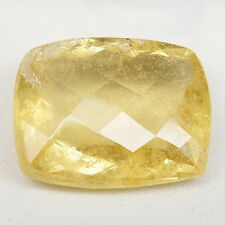 TOP BIG HELIODOR : 44,63 Ct Natürlicher Heliodor ( Gold Beryll ) aus Brasilien