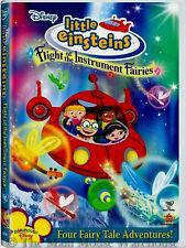 Disney Musical Little Einsteins Flight of the Instrument Fairies Kids Music DVD