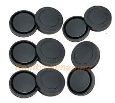 (5 packs) Lens Rear Caps & Body Protective Censor Cover for Sony E-Mount Lense